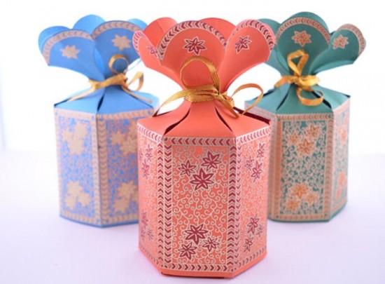 Bomboniera matrimonio scatolina fiore
