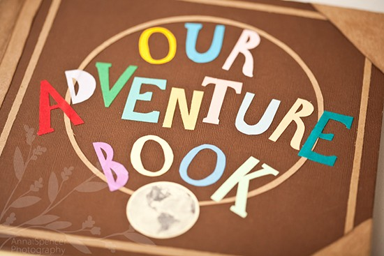 Matrimonio tema UP guestbook our adventure book