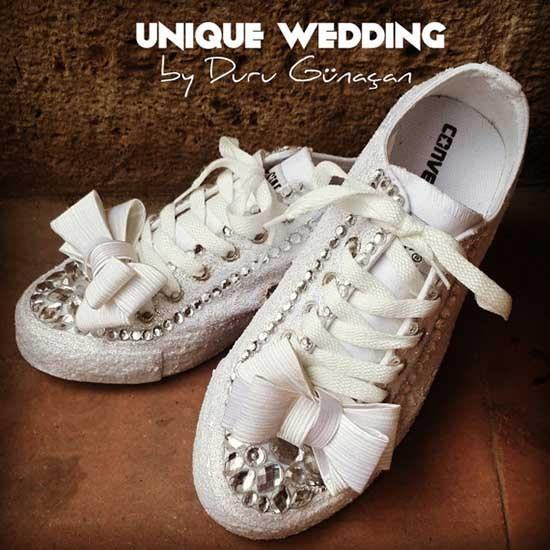 scarpe converse per sposa