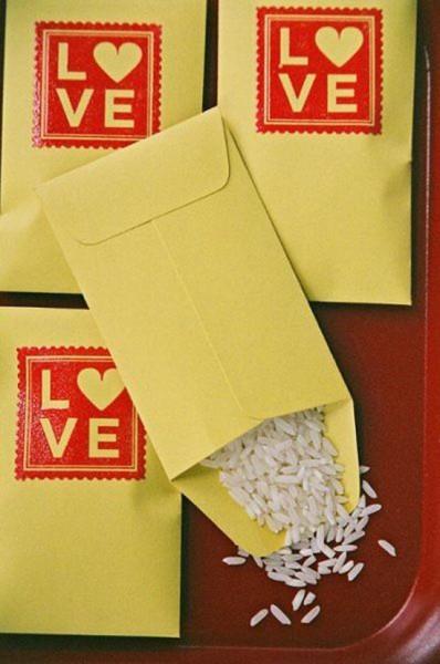 Matrimonio sacchetto portaconfetti con timbro personalizzato