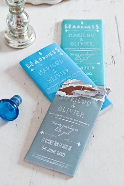 Partecipazioni tavoletta cioccolato