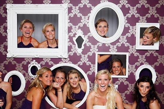 Photo booth cornici