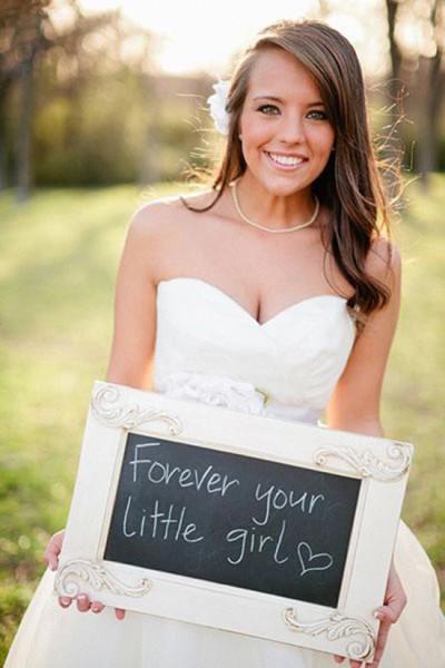Regalo padre sposa foto