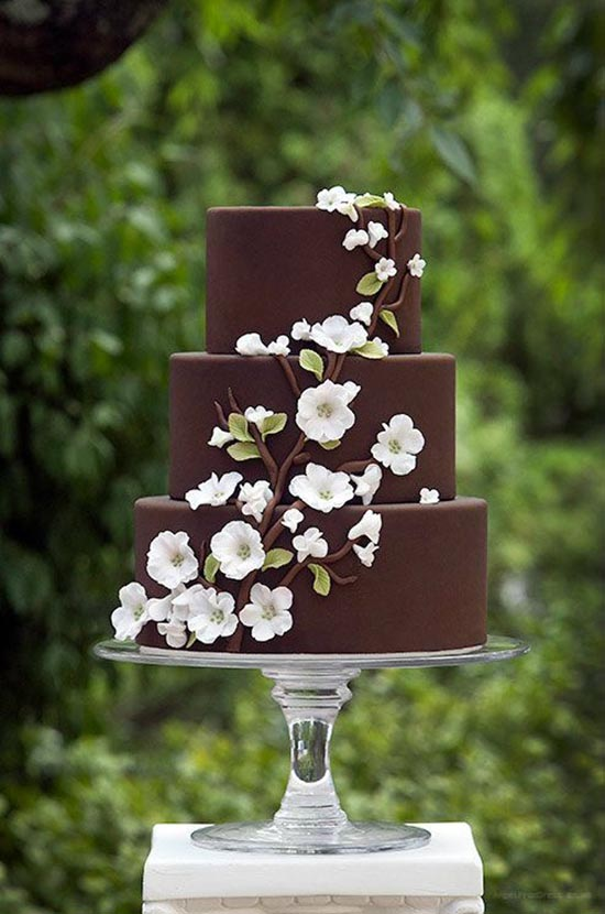 Torta matrimonio cioccolato