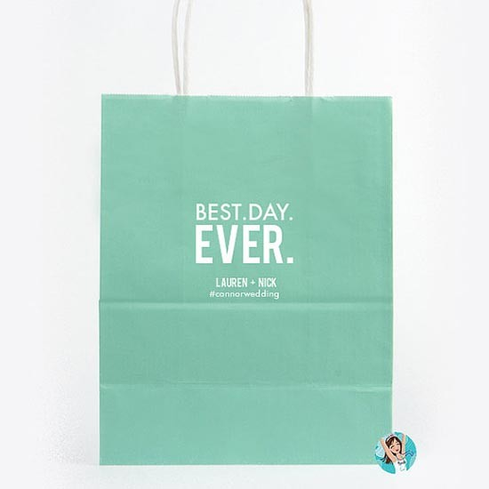 Wedding welcome bag borsa carta