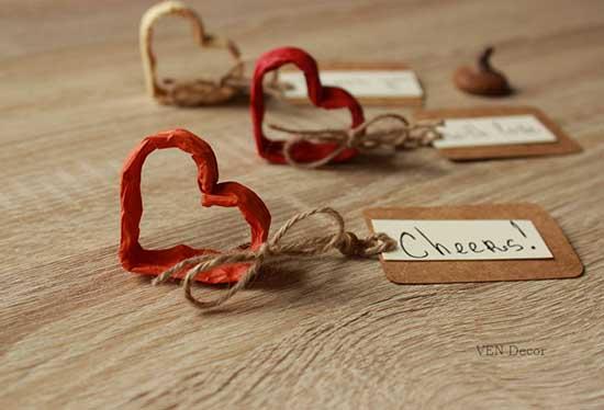 Segnaposto matrimonio shabby chic ecco i pi originali - Idee originali per segnaposto matrimonio ...