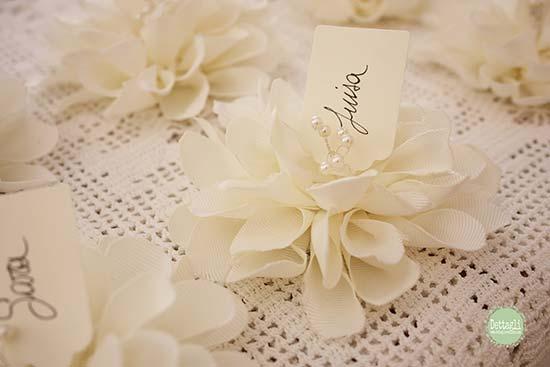 Tema Per Un Matrimonio Elegante : Segnaposto matrimonio shabby chic ecco i più originali