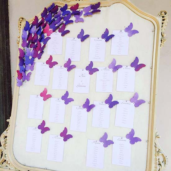 Matrimonio Tema Farfalle : Tableau farfalle i più belli e originali