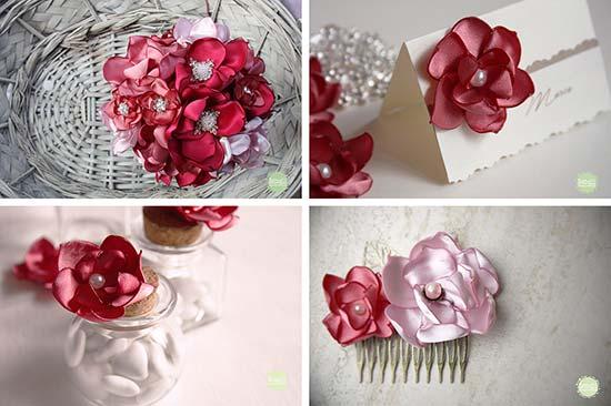 coordinato matrimonio fiori