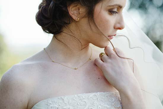 parure sposa in oro