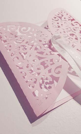 partecipazioni matrimonio taglio laser