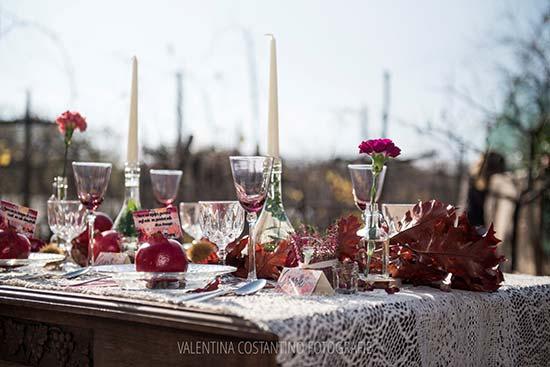 allestimenti matrimonio tavola