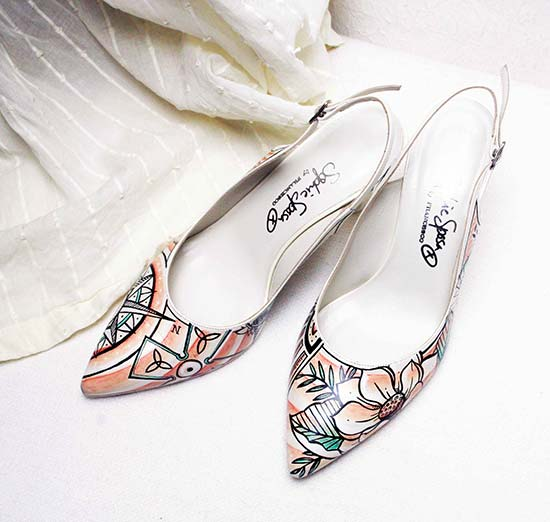 scarpe sposa originali