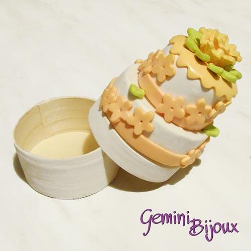 Bomboniera matrimonio scatolina torta