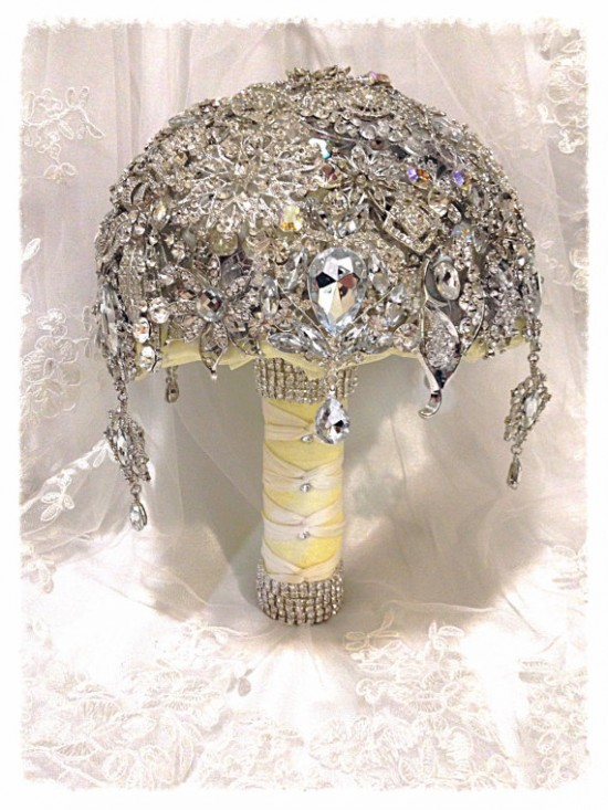 Bouquet gioiello diamanti