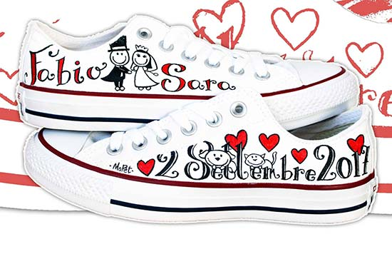 converse all star matrimonio
