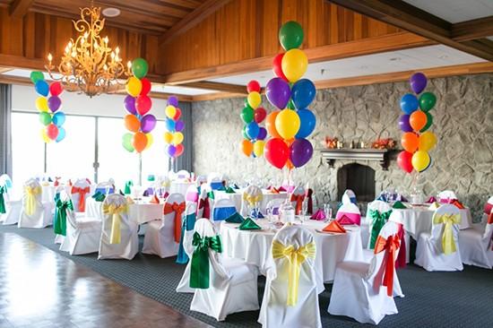 Matrimonio tema UP decorazioni palloncini