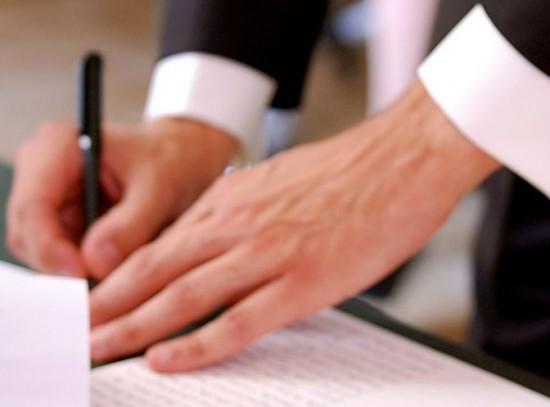 Matrimonio firma in comune