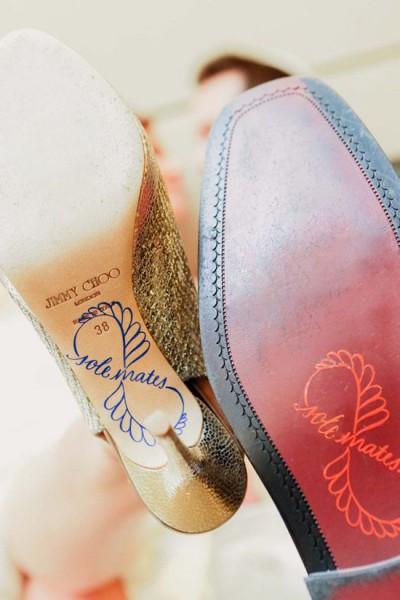 Scarpe sposa suole personalizzate scritta