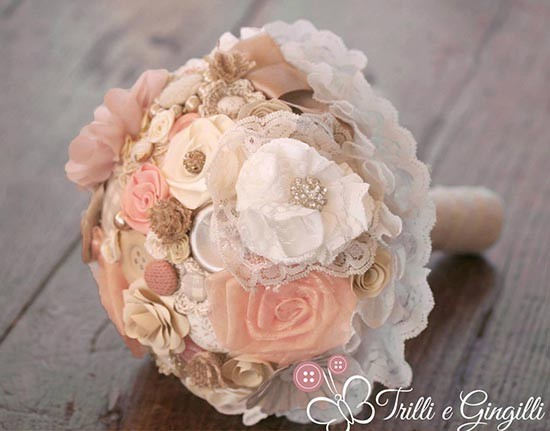 Bouquet tessuto