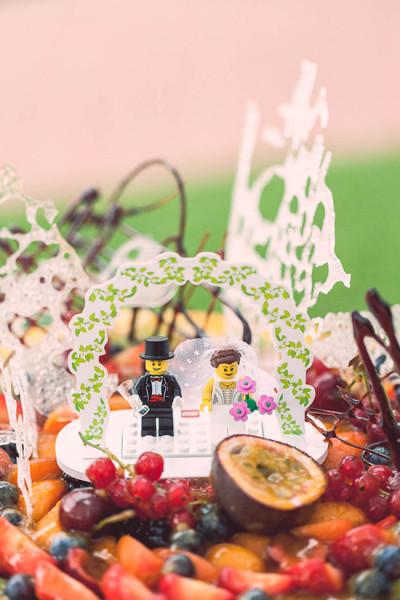 Matrimonio Tema Lego : Cake topper coi lego!