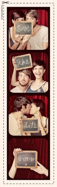 Save the date foto tessera