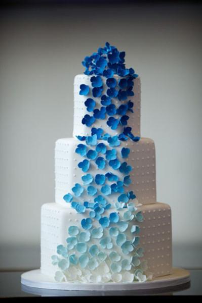 Blue Big Cake
