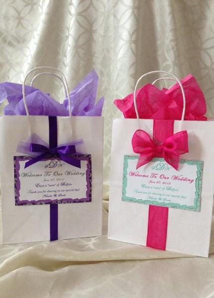 Wedding welcome bag borsa carta