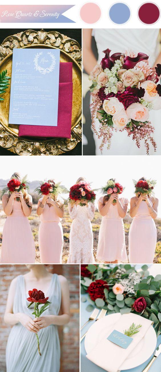 Matrimonio Rosa Quarzo E Azzurro Serenity : Colori matrimonio quali sono e come abbinarli