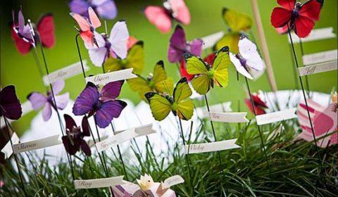 tableau matrimonio farfalle