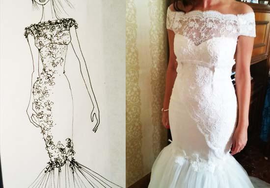 Abiti da sposa su misura e originali  le creazioni di Daisy   Co! 3d266facdcc