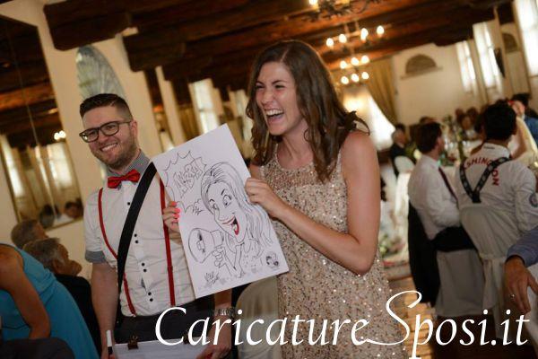 caricature matrimonio divertenti