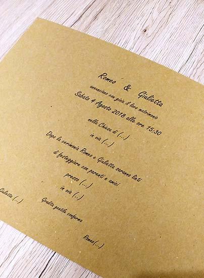 Partecipazioni Matrimonio Country Chic Fai Da Te : Partecipazioni matrimonio originali personalizzate campione gratis