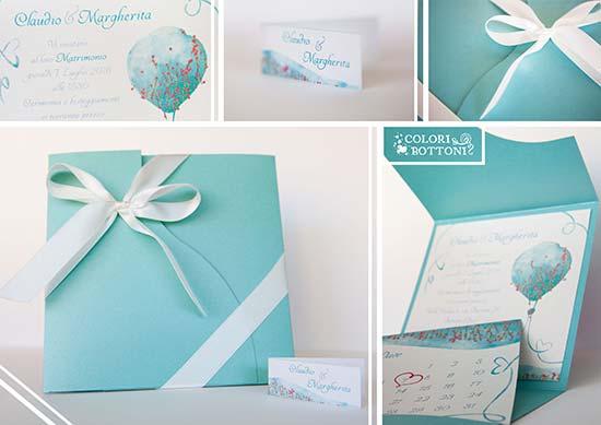 Matrimonio Tema Tiffany : Inviti matrimonio particolari e personalizzati il