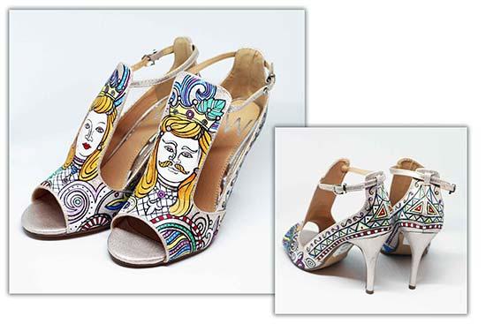 scarpe sposa originali personalizzate