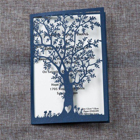 partecipazioni albero della vita blu