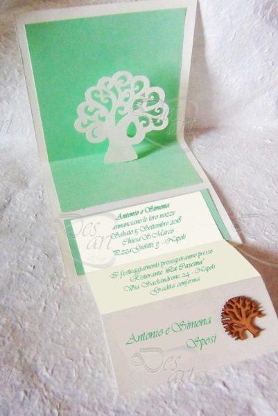 partecipazioni albero della vita verde