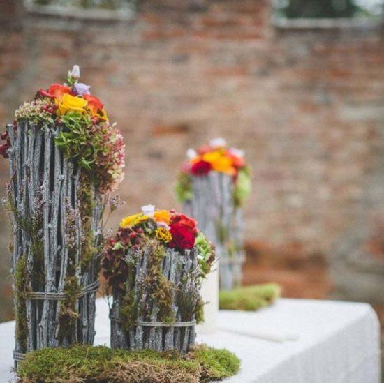 allestimenti matrimonio autunnale fiori