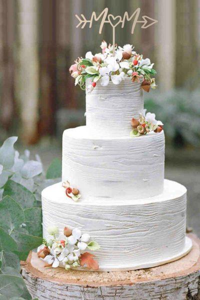cake topper scritte personalizzate matrimonio iniziali
