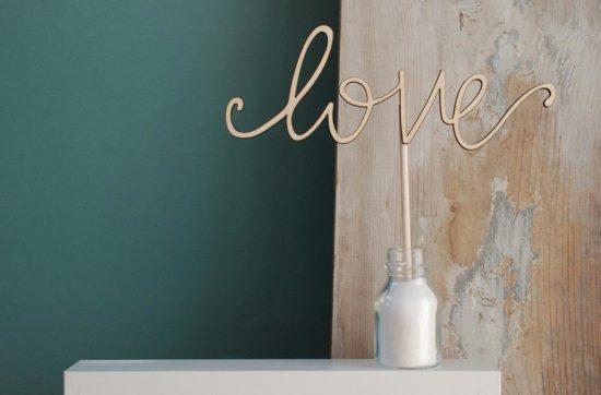 cake topper scritte personalizzate matrimonio love