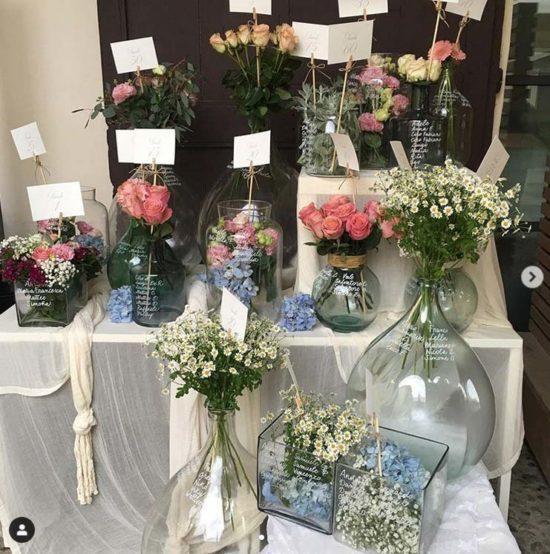 tableau matrimonio fiori