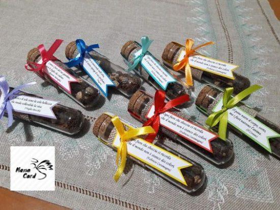 bomboniere provette semi da piantare
